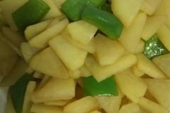 妈妈的味道,土豆片炒柿子椒