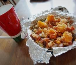 芝士焗饭➕芝士红薯