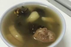 瑶柱海参汤