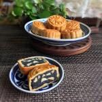 黑芝麻核桃馅月饼