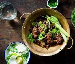 巴东咖喱牛腩.Beef rendang.
