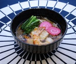 鲜虾牛蒡的杂煮