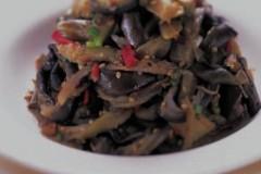 韩式凉拌蒸茄子(小菜)