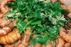 #快手晚餐# 三汁焖虾