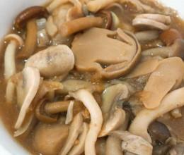 沙茶菌菇煲
