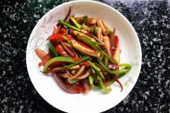 青红椒鱿鱼须