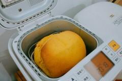 秋天的味道,南瓜吐司(松下面包机版)