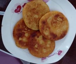红薯紫薯饼