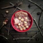 莲藕百合莲子瘦肉汤