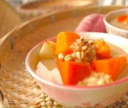 南瓜红薯暖身汤
