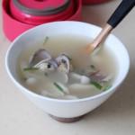 蛤蜊菌菇汤