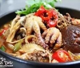 海鲜牛肉锅