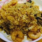 香菇虾仁油饭