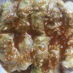 翡翠白菜肉卷