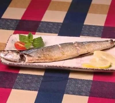 微波爐秋刀魚