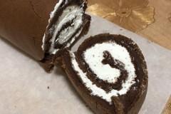 巧克力奶油蛋糕卷(可可粉版)