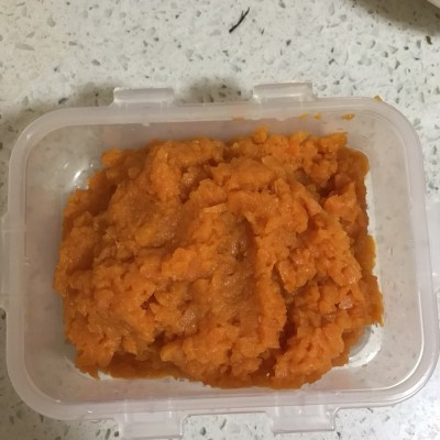 六个月宝宝辅食食谱-胡萝卜泥