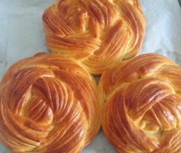玉米油版花朵面包