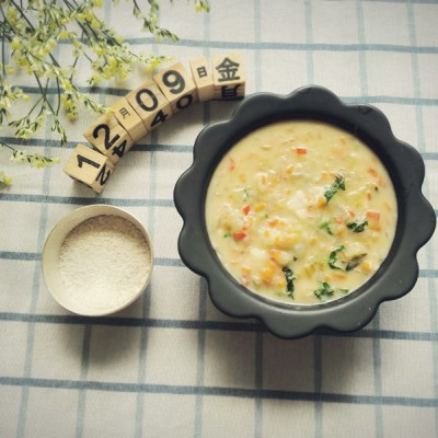 7个月宝宝辅食食谱-奶油炖菜