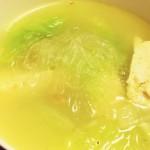 鴨架子湯+白菜豆腐粉絲