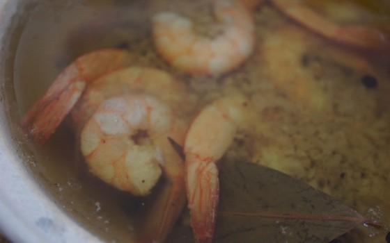 西班牙橄榄油大虾