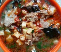 羊肉泡馍(煮馍)