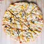 燕麦鸡胸肉披萨