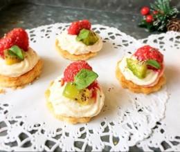 豆腐奶油树莓塔,低脂健康甜品 【山姆厨房】