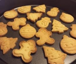 无鸡蛋版高筋粉圣诞黄油饼干