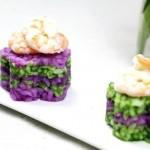 紫甘蓝茼蒿寿司饭
