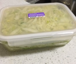 腌制东北酸菜