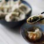 薺菜冬筍餃子
