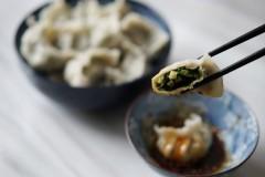 荠菜冬笋饺子