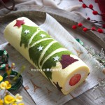 圣诞树蛋糕卷~