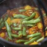 东北名菜——排骨粉条炖豆角