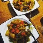 咖喱鸡肉时蔬饭