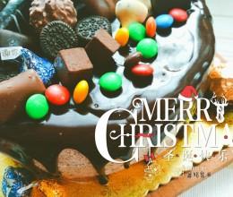 圣诞季:滴落戚风蛋糕(8寸)