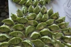 菠菜汁翡翠饺子