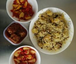 干巴洋芋焖饭