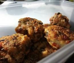 鸡肉香菇蔬菜饼