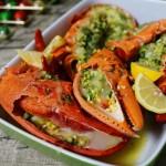 黄油芝士焗龙虾--活波士顿龙虾