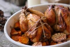 有内涵的烤鸡(野米童子鸡)