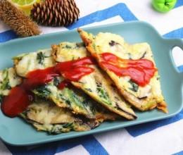 香菇蔬菜奶酪饼