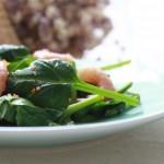 【新年家宴】北极甜虾小叶菠菜沙拉