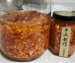 自制蒜蓉辣椒酱