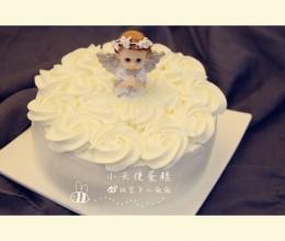 雀巢淡奶油也可以做裱花蛋糕