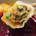 牛肉韭黄饺子
