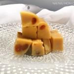 二月十五灶君會的豌豆糕——沒柿餅的那叫豌豆黃,這個是正經豌豆糕