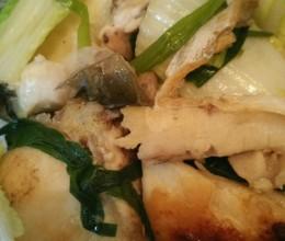 鲩鱼焖白菜
