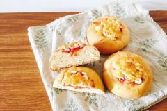 番茄培根芝士面包